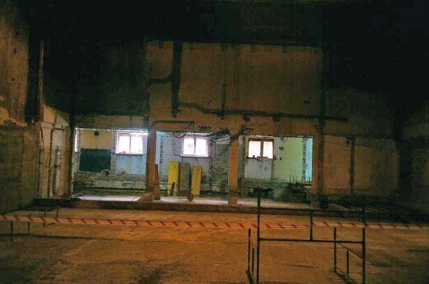 Tak wyglądała duża sala w grudniu 2011 roku beznaswy.blox.pl