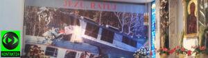 Rozbite pociągi w Grobie Pańskim
