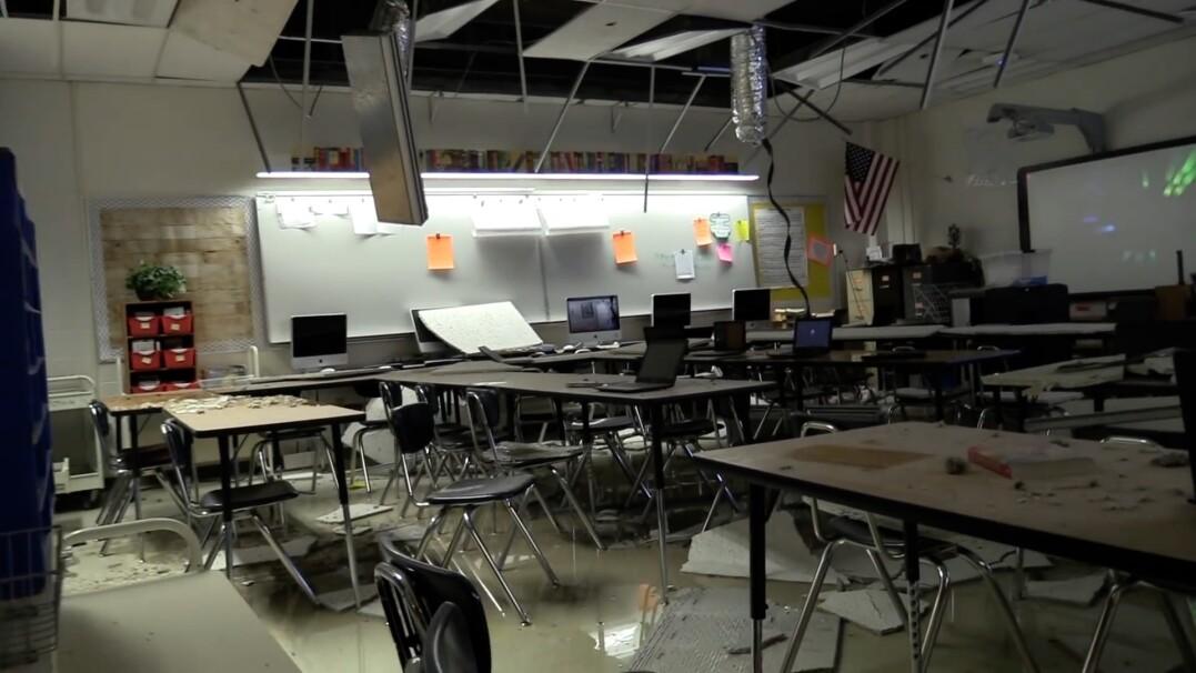 Mieli nagrać lekcję, nagrali trzęsienie ziemi w szkolnej klasie