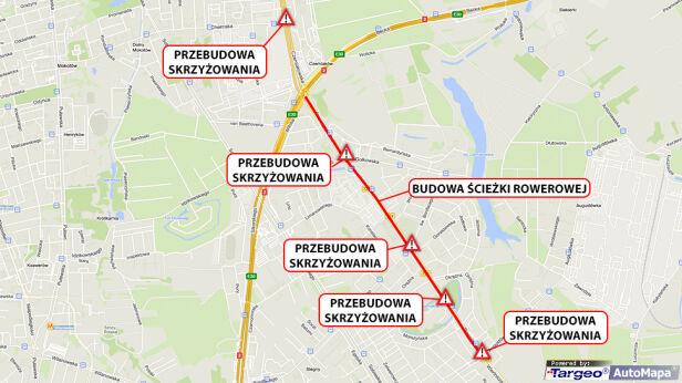 Zmiany na Czerniakowskiej i Powsińskiej targeo.pl