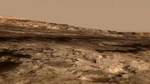 """Curiosity na """"Dzikim Zachodzie"""" Marsa"""