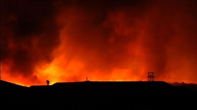 Majorka stanęła w płomieniach. Ich blask widziano na Minorce