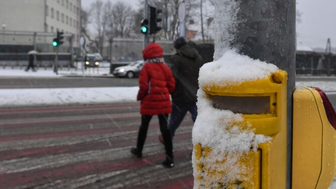 Pogoda na dziś: spadnie trochę śniegu, od -2 do 2 stopni