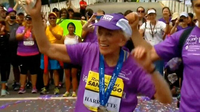 Oto najstarsza maratonka na świecie. <br />Jest nowy rekord
