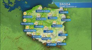 Pogoda na środę 20.05