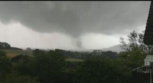 Gwałtowna pogoda w Luksemburgu