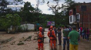 Kolumbia walczy ze skutkami powodzi