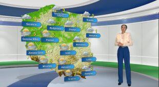 Prognoza pogody na poniedziałek 14.12